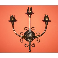 Wrought iron candle holder...