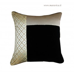 Cushion velvet and damask...