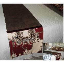 Luxury bed runner animal...