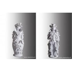 Sicilian ceramic candle...