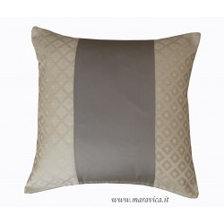 Tortora and ivory luxury throw pillow fireproof and...