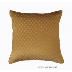 Luxury gold throw pillow