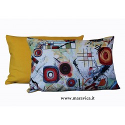Modern throw pillow abstract pattern 40x60 cm