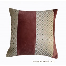 Pink velvet decor cushion...