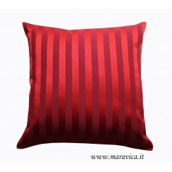 Luxury Throw pillow Bordeaux damask striped