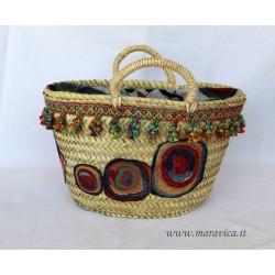 Sicilian coffa modern design magazine rack handmade