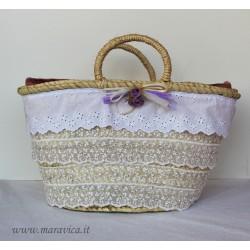 Sicilian bag laces handmade