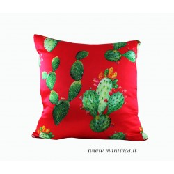 Throw pillow sicilian mood prickly pears