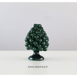 Pigna verde in ceramica di...