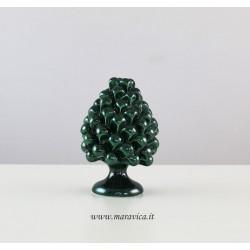 Pigna verde in ceramica di Caltagirone realizzata e...
