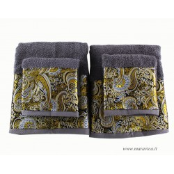 Set luxury towel 2 face and...