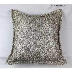Cuscino arredo divano in lurex oro e argento
