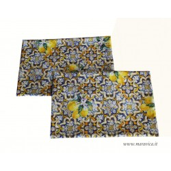 copy of Set of 2 American placemats in Caltagirone...