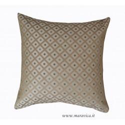 Cuscino per divano elegante damasco a rombi