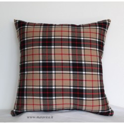 Throw pillow Burberry patterned