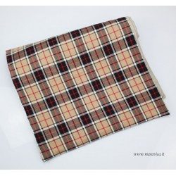 Bed runner  Burberry pattern