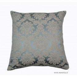 Cuscino elegante in damasco e velluto