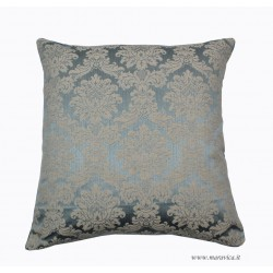 Elegant luxury throw pillow damask and velvet