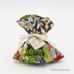 20 sugared bags in majolica cotton and flowers