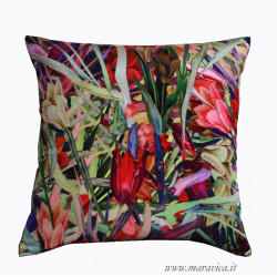 copy of Modern decorative cushion in abstract patterned...