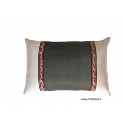 Modernthrow pillow cm 30x50 gray made in Italy