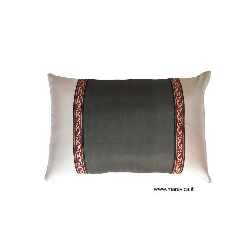 Cuscino 30x50 moderno grigio chiaro e scuro - Copritavolo moderno ...