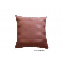 Cuscino moderno a strisce rosa
