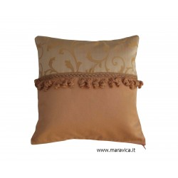 Cushion country chic cm 40x40 champagne jacquard home...