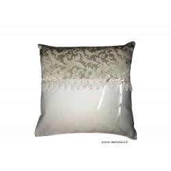 Shabby chic damask pillow...