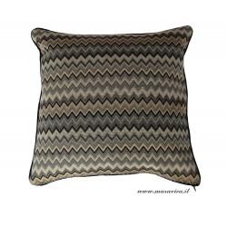 Cuscino divano disegni geometrici motivo chevron