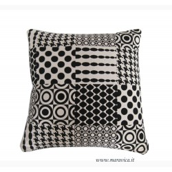 Cushion Black and white modern fantasy millennials home...