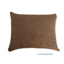 Cushion linen and cotton handmade made in Italy