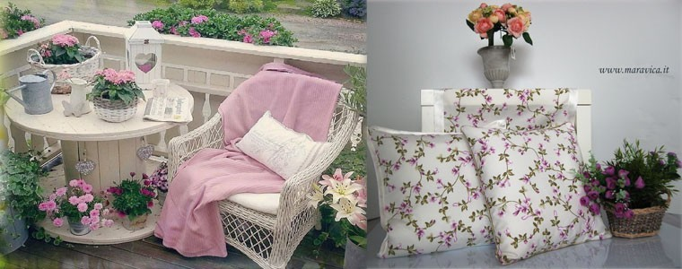 Maravica.it Cushions chic country furniture home collection